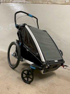 Thule Chariot Sport 2 Black Edition Zweisitzer Kinderanhänger - Gratisinserat.ch