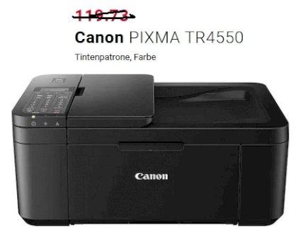 Canon PIXMA TR4550 mit Garantie bis 02.08.2023 - Gratisinserat.ch