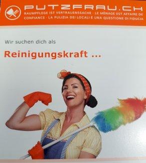 Raumpflegerin für private Wohnungen 20-40% in Dübendorf gesucht - Gratisinserat.ch