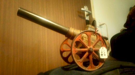 Kanone für Sammler.