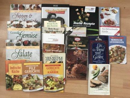 Diverse Kochbücher - Gratisinserat.ch