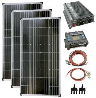 solartronics Photovoltaik Set 3x130 Watt Solarmodul 1500 Watt Wandler Laderegler - Gratisinserat.ch