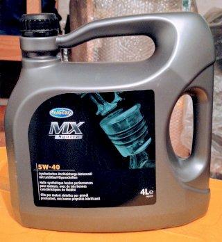 Motorenöl 5w40, 4 Liter, synthetisch