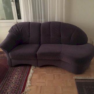Sofa, blau, 2 m breit  - Gratisinserat.ch