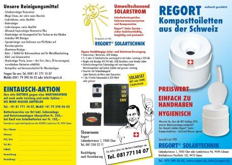 Komposttoilette und Solar und Notstromsystem für Büro und Gewerbe in jeder Variante - Gratisinserat.ch