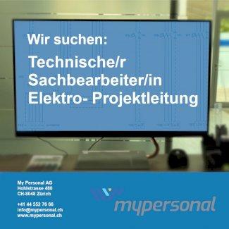 Techn. Sachbearbeiter/in mit Elektro-Prokjektleiter/in - Gratisinserat.ch