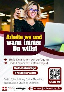 Frelancer gesucht - Gratisinserat.ch