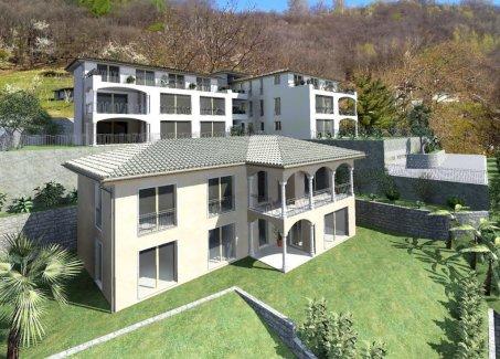 Letzten 2 Wohnungen mit Seesicht bis nach Italien über den Lago Maggiore - Gratisinserat.ch