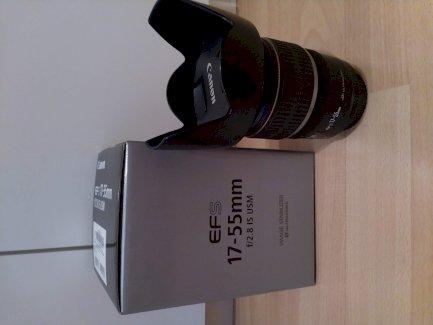Canon EF-S 17-55mm f/2.8 IS USM Objektiv mit Lenshood und UV Filter - Gratisinserat.ch