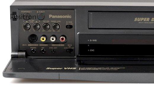 7-Kopf SVHS Videorecorder Panasonic + 135 VC für Nostalgiker