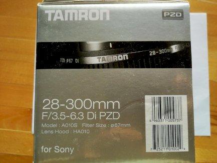 Objektiv von der Marke Tamron für Sony Kamera - Gratisinserat.ch