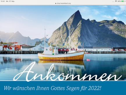 Gratis: Kalender Ankommen 2022 - Gratisinserat.ch
