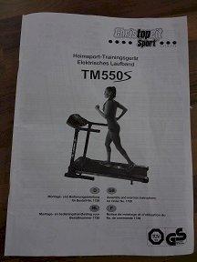 Elektrisches Laufband TM550S - plus 1 Wonder Care2 gratis dazu! - Gratisinserat.ch