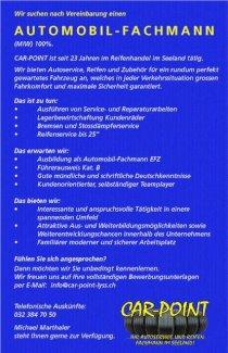 Automobil-Fachmann EFZ - Gratisinserat.ch