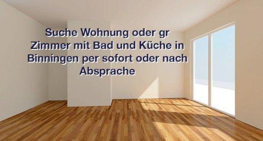 Suche in Binningen 1 Zimmer Wohnung per sofort oder Vereinbarung
