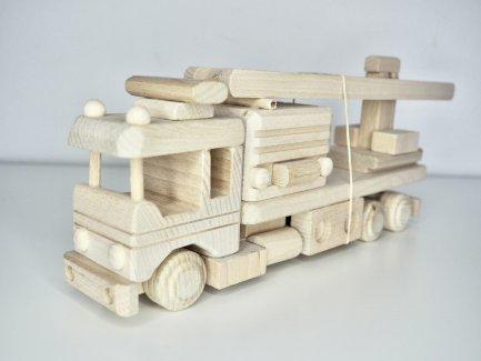 Feuerwehr Modell Holz Spielzeug  - Gratisinserat.ch