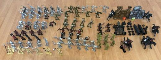 Plastik Ritter Figuren