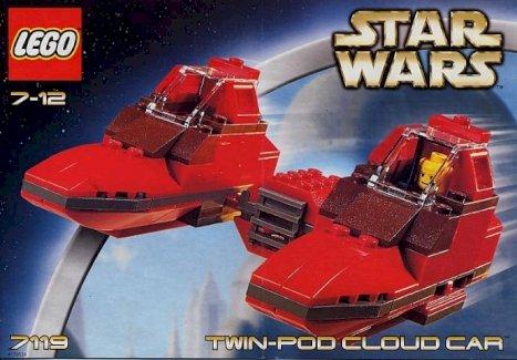 Lego Star Wars Twin Pod Cloud Car Original - Gratisinserat.ch
