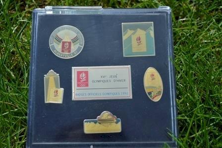 Pin_Sammlung Olympische Spiele 1992 Albertville