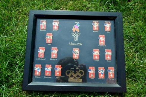 Pin_Sammlung Olympische Spiele 1996 Atlanta - Gratisinserat.ch