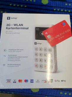 Ganz neu und noch originalverpackt:SumUp 3G & WiFi Kartenleser - Gratisinserat.ch