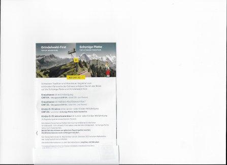 Grindelwald-GrindelwaldFIRST + Schynige Platte - Gratisinserat.ch