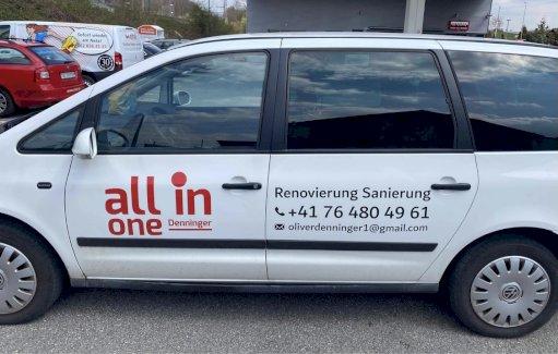 Auto Sticker / Aufkleber / Beschriftung - Gratisinserat.ch