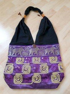 Tasche violett und braun - Gratisinserat.ch