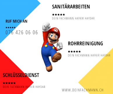 Dein Fachmann Reparatur Service für dein Zuhause - Gratisinserat.ch