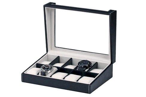 Rothenschild Uhrenbox 10 Uhren schwarz - Gratisinserat.ch