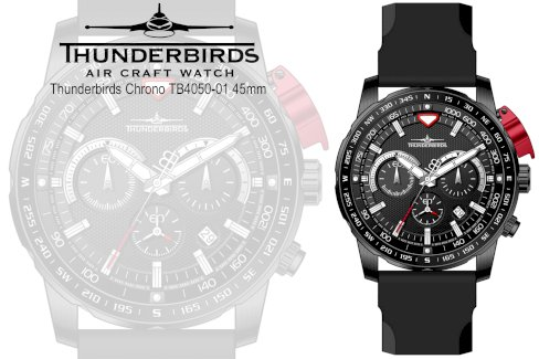 Thunderbirds Chrono TB4050-01 schwarz Neuheit  - Gratisinserat.ch