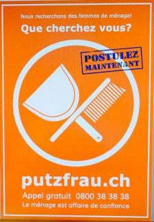 Reinigungsfachangestellte (20% bis 50%) Teilzeitbasis 20-40% - Gratisinserat.ch