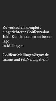 Coiffeursalon zum verkaufen - Gratisinserat.ch