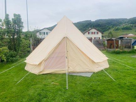 FENEK . SHOP - Luxus Camping Zelt Ø5 Meter - Gratisinserat.ch
