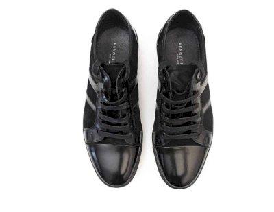 Neuwertiger Sneaker (Leder) Keneth Cole Gr 41