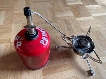 Primus EasyFuel II Kocher Duo, mit Piezozündung - Gratisinserat.ch