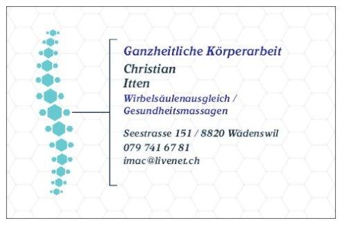 Wirbelsäulenausgleich nach Dieter Dorn und Breuss-Massagen - Gratisinserat.ch