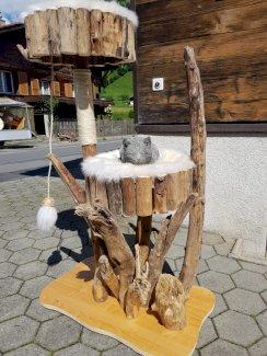 Katzenbaum natur neu - Gratisinserat.ch