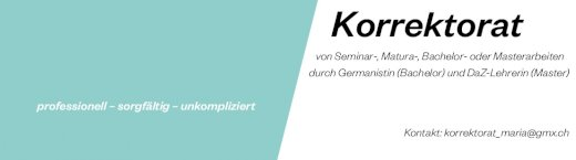 Korrektorat von Texten - Gratisinserat.ch