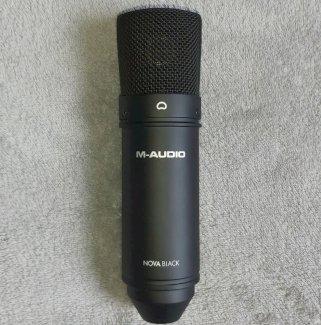 M-Audio Mikrophon Nova Black