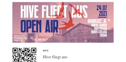 2 Tickets Hive fliegt aus SBB - Gratisinserat.ch
