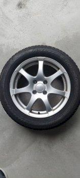 4 x Winter-Komplett-Rad 205/55/16 Dunlop