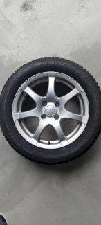 4 x Winter-Komplett-Rad 205/55/16 Dunlop - Gratisinserat.ch