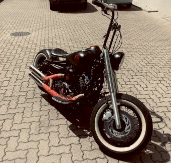 Yamaha XVS 650 Bobber umbau  - Gratisinserat.ch