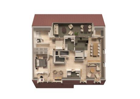 5.5 Zimmer Neubauwohnung (C1), 2. OG, 172 m2 1\189\000.- - Gratisinserat.ch