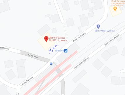 Parkplätze zu vermieten in Lyssach