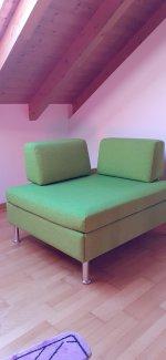 platzsparendes Sofa/ausziehbar zum Bett - Gratisinserat.ch