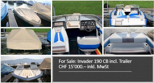 Invader 190 CB ideales Einsteigerboot inkl. Trailer - Gratisinserat.ch