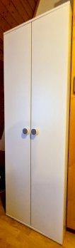 Original IKEA-Wandschrank 2-türig, weiss