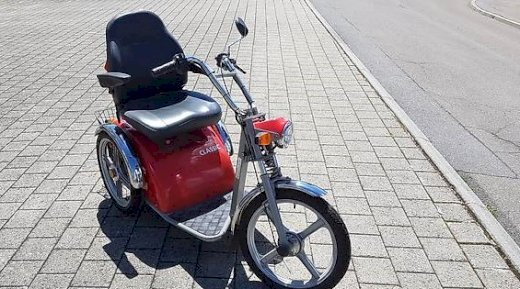 Kyburz 3Rad Classic 6-12km/h - Gratisinserat.ch